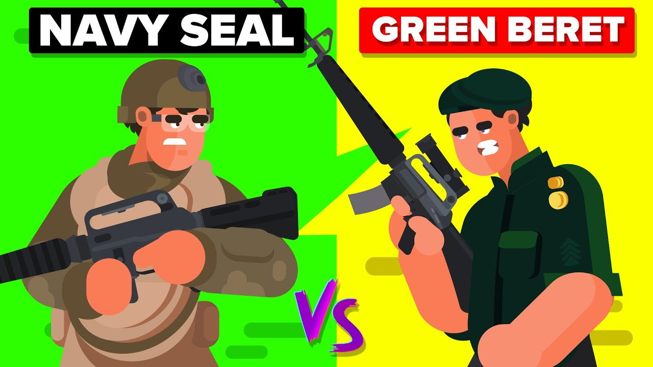 Navy Seals vs Green Berets - Which Military Special Forces Unit Wins?
