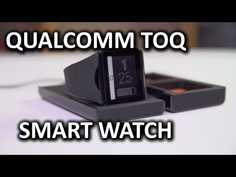 Qualcomm Toq Smart Watch - Smashpipe Tech