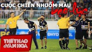 Hoàng Anh Gia Lai vs Hà Nội: Cuộc chiến nhuốm màu bạo lực