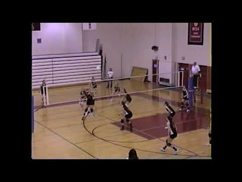 NAC - Plattsburgh Volleyball  2-6-02