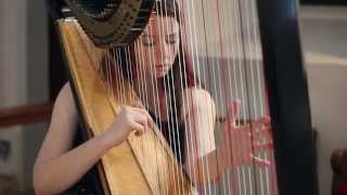 J.S. Bach - Toccata and Fugue in D Minor BWV 565 (Performed by Amy Turk at Harp)