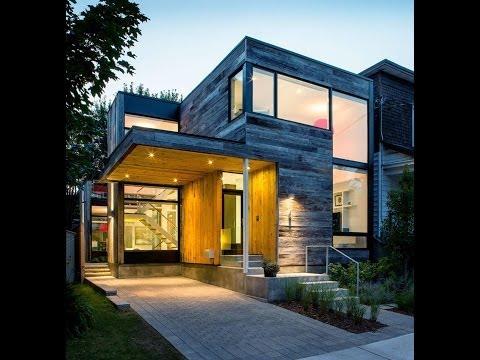 Fachadas de casas modernas musica movil for Casa moderna minimalista 6 00 m x 12 50 m 220 m2
