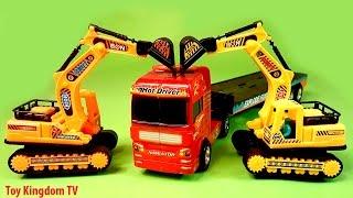 O to do choi cho be, xe may xuc , xe cần cẩu, xe máy xúc cát đồ chơi, Excavator Toy For kids
