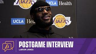 Lakers Postgame: LeBron James (1/21/21)