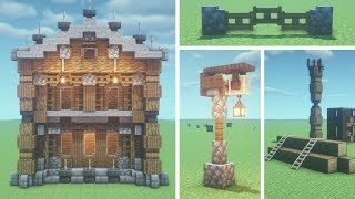50 Minecraft Building Tips & Tricks