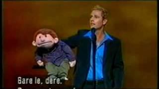 Paul Zerdin and Sam on Royal Variety Performance 2002