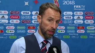 Gareth Southgate - Post Match Interview - MATCH 62