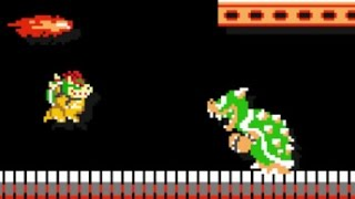 Super Mario Maker - 10 Mario Challenge Walkthrough Part 1 - Bowser Vs. Bowser