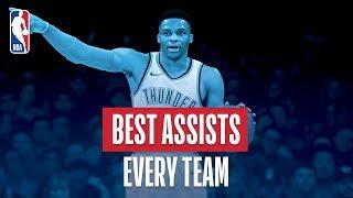 NBA's Best Assist of Every Team | 2018-19 NBA Season | #NBAAssistWeek