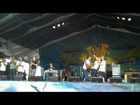 The Revivalists  at Jazzfest 2010:  Not Turn Away