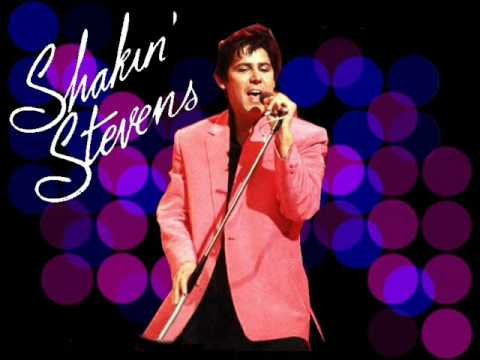 New! Shakin' Stevens - Because I Love You with Lyrics
