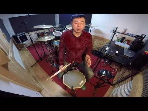[드럼레슨]초보드럼 싱글스트로크 연습법 속도 올리기 김우진드럼연습실