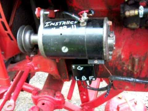 hqdefault Farmall Tractor Regulator Wiring Diagram on