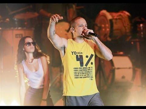 Calle 13 - Digo lo que pienso - en vivo Santo Domingo (cierre de gira)