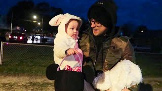 HER FIRST Trick OR Treat!!