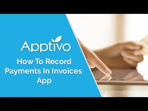 Record payments for invoices