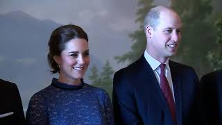 Prince William, Kate in photo-op with Norway's royal family