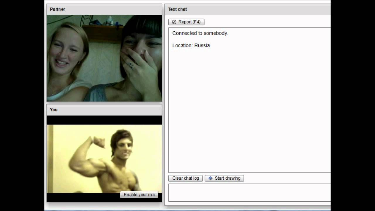 Girl chat roulette