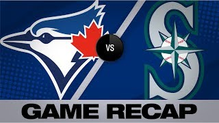 Narvaez, Crawford lead Mariners in 7-4 win | Blue Jays-Mariners Game Highlights 8/23/19