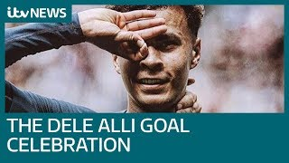 How to do the seemingly 'impossible' Dele Alli goal celebration | ITV News