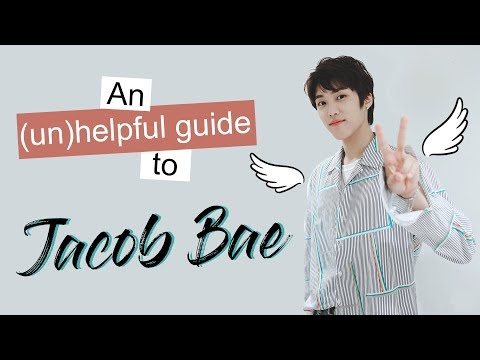 An unhelpful guide to Jacob Bae
