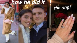HE PROPOSED...WE'RE ENGAGED! | everything you want to know 💍 🎇🙈