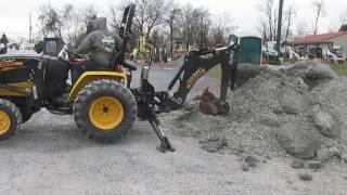 2010 Yanmar Cub Cadet EX3200 4x4 Compact Tractor Loader Backhoe!