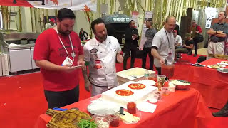 Chef Tony Gemignani live from the show floor of the International Pizza Expo