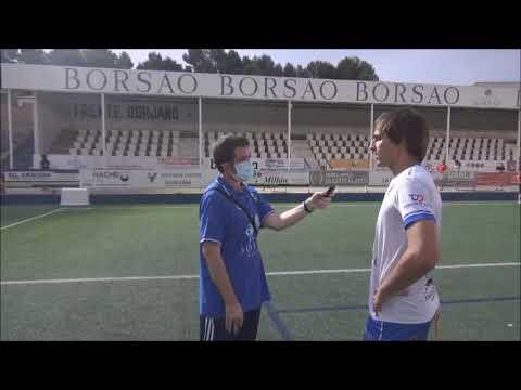 RAÚL MARÍN (Jugador Borja) SD Borja 0-1 SD Huesca B / Trofeo Manuel Meler