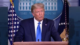 President Donald Trump won't commit to peaceful transfer of power if he loses the election