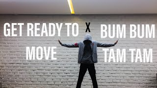 BUM BUM TAM TAM / GET READY TO MOVE |Dance Cover|  #mattsteffanina #tigershroffsongs
