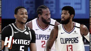 Sacramento Kings vs Los Angeles Clippers - Full Game Highlights | July 27, 2020 | 2019-20 NBA Season