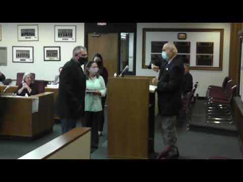 Clinton County Legislature Meeting 11-10-20