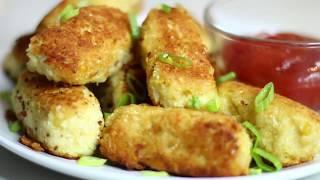 Protein Packed Cauliflower Tots Recipe