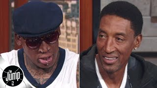 Dennis Rodman and Scottie Pippen reminisce on the Pistons-Bulls rivalry | The Jump
