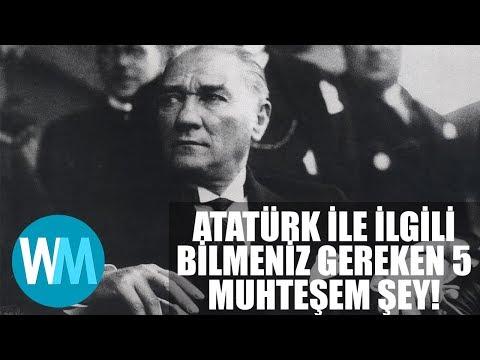 Mustafa Kemal Atatürk ile ilgili bilmeniz gereken 5 muhteşem gerçek!