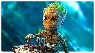 Guardians of the Galaxy 2 Baby Groot Best Funny Movie Clips (2017)