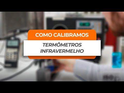 Como calibramos um termômetro infravermelho