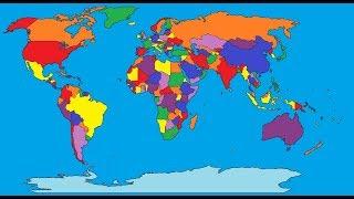 Nations Of The World Song - Yakko Warner - Animaniacs