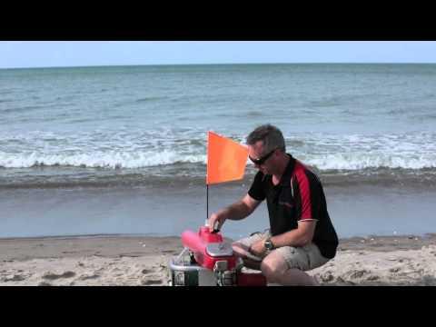 Seahorse Kontiki - Launching your Kontiki from the Beach