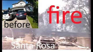 COMING HOME TO NOTHING SANTA ROSA FIRE