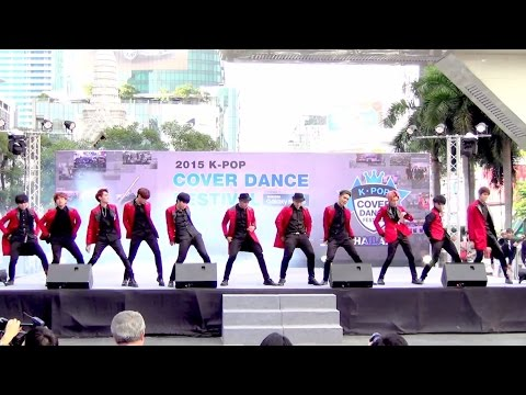 150905 The Most Wanted cover EXO - Playboy + Call Me Baby @Thailand 2015 K-POP Cover Dance Festival