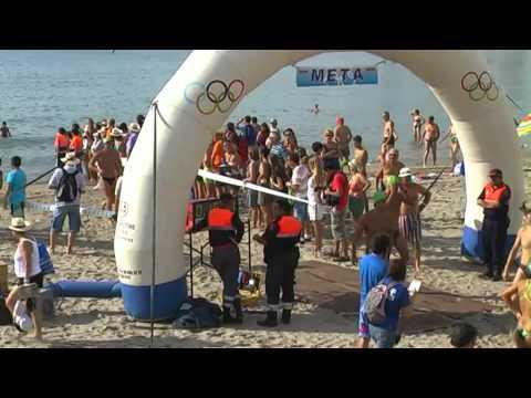 Natación 1 Travesía, 17/09/11, San Juan.MP4
