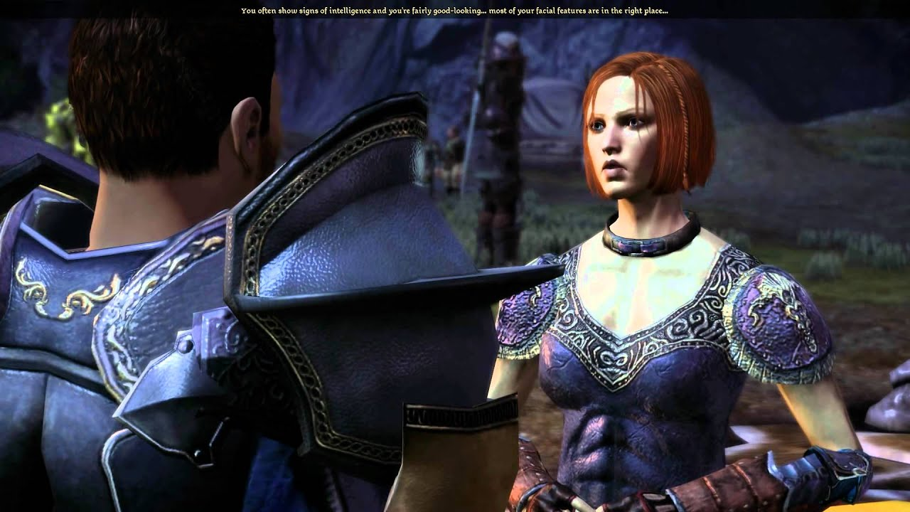 dragon age origins relationship with leliana