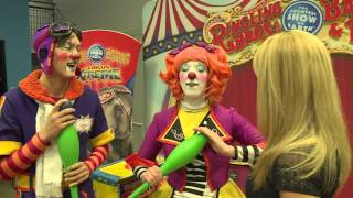 Clown School With The Ringling Bros. and Barnum & Bailey Circus Xtreme -PART 1(March 2016)