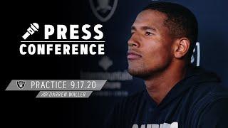 Darren Waller Talks Energy for MNF & Balance on Raiders' Offense | Las Vegas Raiders