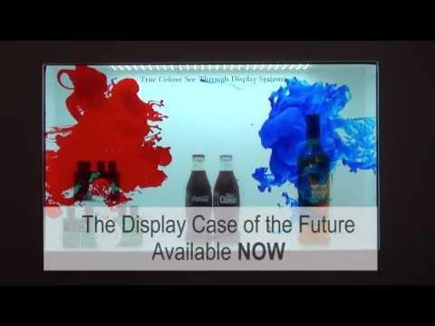 CThru Digital Display Case