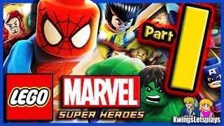 LEGO Marvel Super Heroes - Walkthrough Part 1 Prologue Sand Central Station