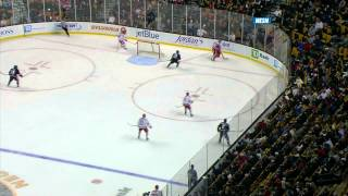 Kevin Roy scores a hat trick for Northeastern at the Beanpot 2/4/13