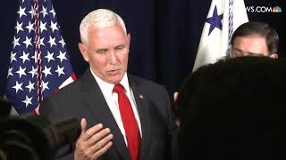 Vice President Pence talks about Joe Biden: 'I think the American People have a right to know'